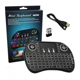 MINI TECLADO TOUCHPAD E LED BACKLIT