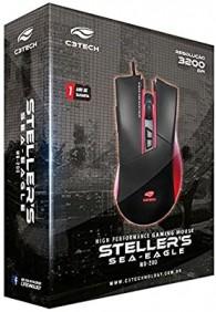 Mouse Gamer USB Stellers Mg-200BRD C3 Tech