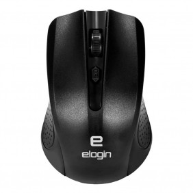 Mouse sem Fio 2.4 GHz MOUSB1200BK04 MO04 Elogin