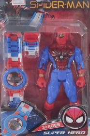 Relógio com Boneco Spider Man BH6177