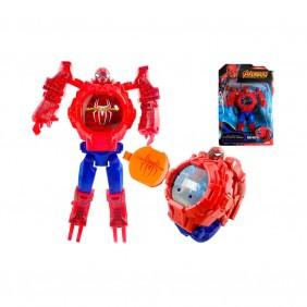 Relógio Infantil Robô Spiderman ZL8525