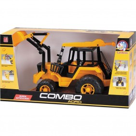 Trator de Brinquedo Combo Agro 1051
