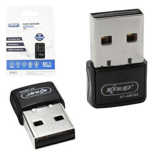 ADAPTADOR WI-FI USB NANO KNUP AW153