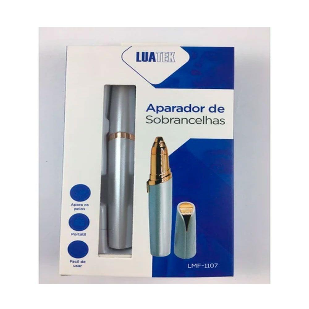 APARADOR DE SOBRANCELHAS LMF-1107 LUATEK