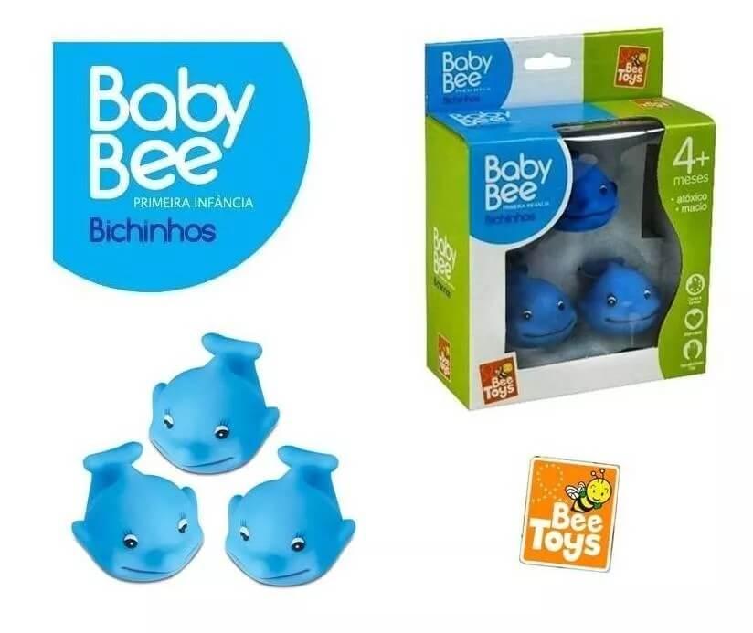 BICHINHOS PRIMEIRA INFÂNCIA GOLFINHOS 0308 BABY BEE