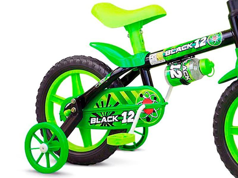BICICLETA ARO 12 BLACK 04 NATHOR