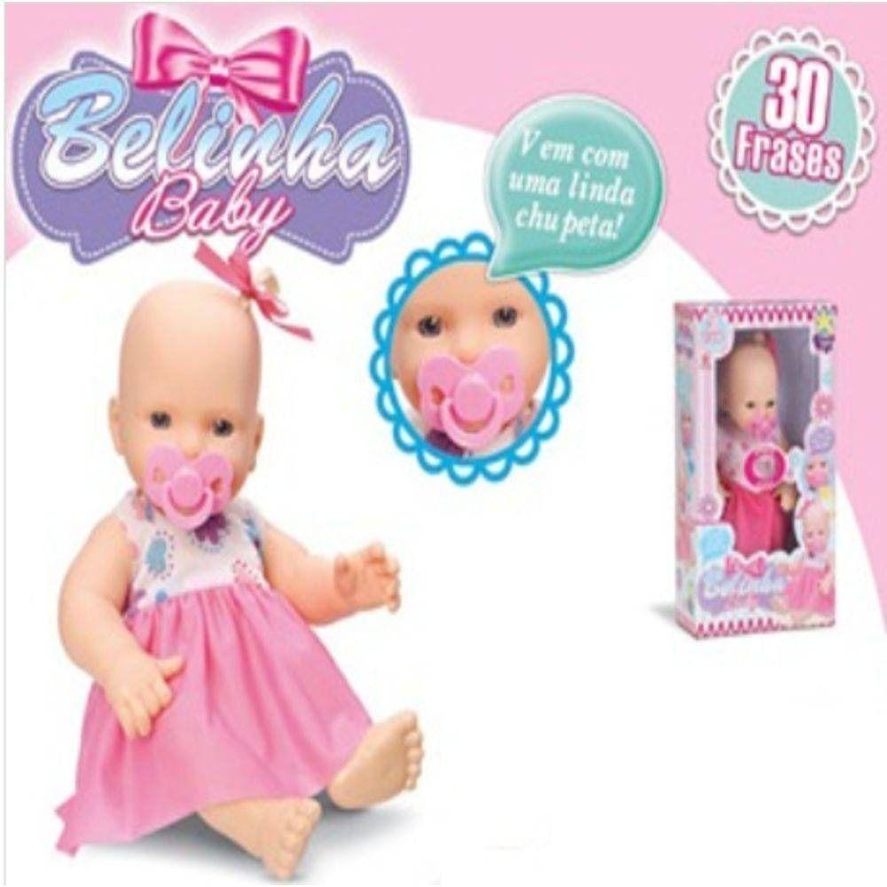 BONECA BELINHA BABY 092 DIVER TOYS