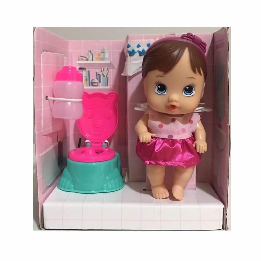 Boneca Little Dolls Faz Xixi 8002
