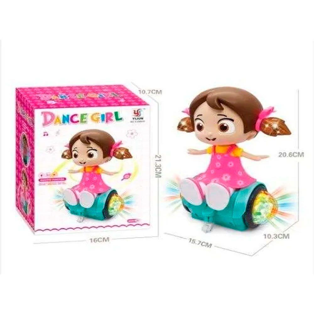 BONECA MUSICAL DANCE GIRL YJ388-51