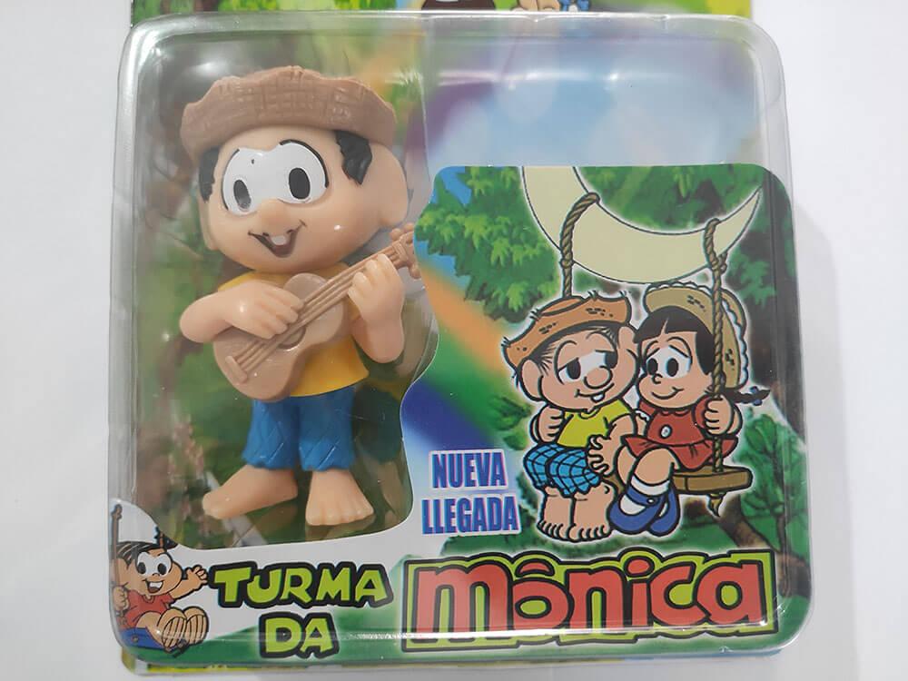 BONECOS TURMA DA MÔNICA CHICO BENTO CARTELADO 88326