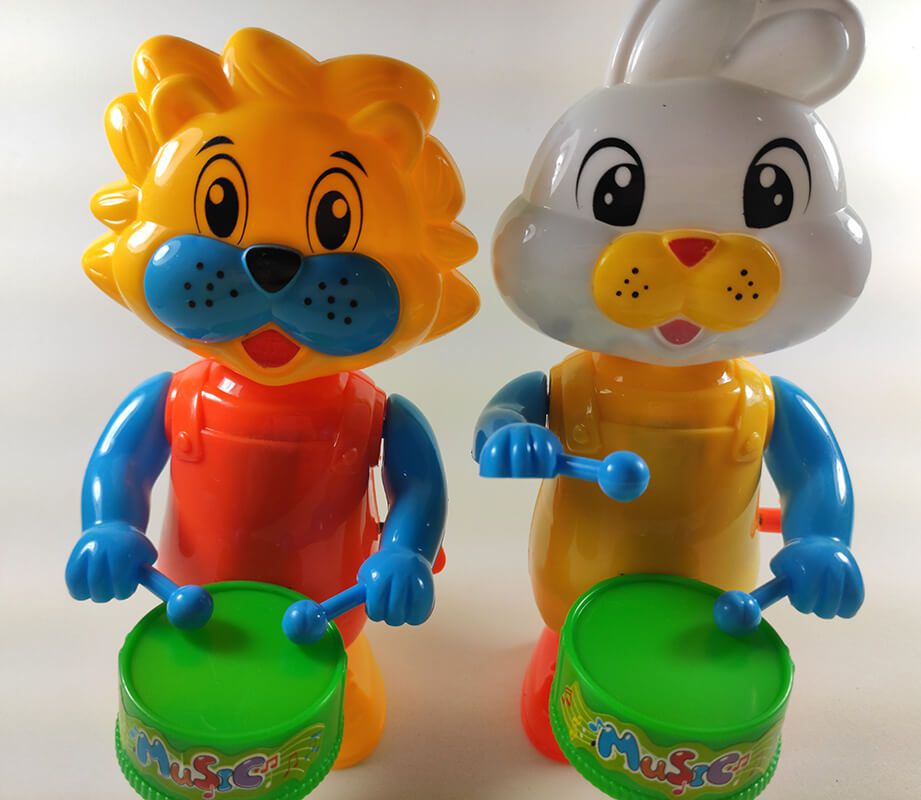 BRINQUEDO ANIMAL DIVERTIDO A CORDA MT-1264