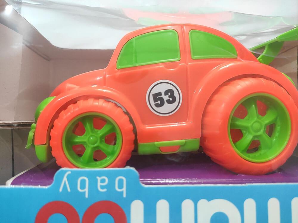 Brinquedo Carro Fuka Bala Baby mambo 480 Bs Toys