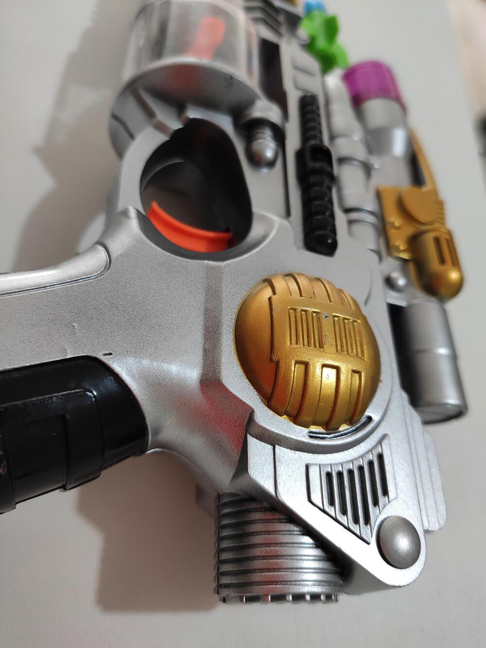 BRINQUEDO SUPER GUN LUZ E MÚSICA OM538482