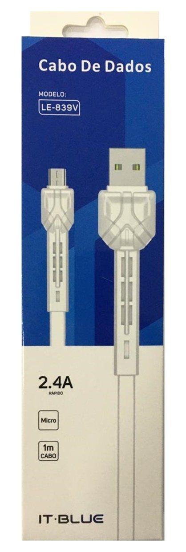CABO USB V8 LE-839V IT-BLUE