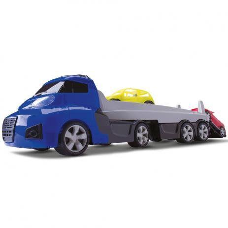Caminhão Cegonha Com Carros Invictus - Cardoso Brinquedos