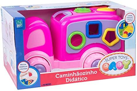 CAMINHÃOZINHO DIDÁTICO 288 SUPER TOYS