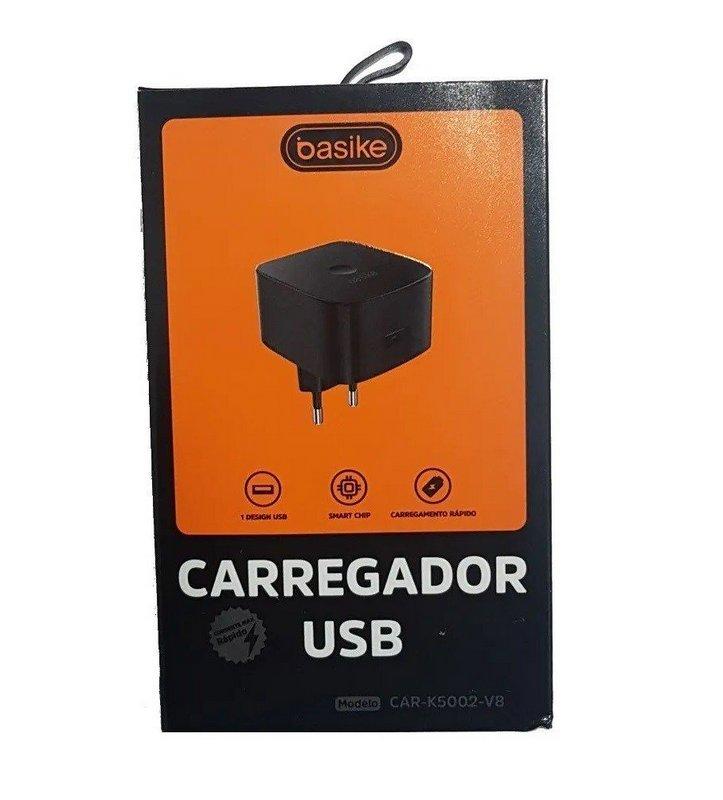 CARREGADOR TIPO C TURBO CAR-K5002 BASIKE