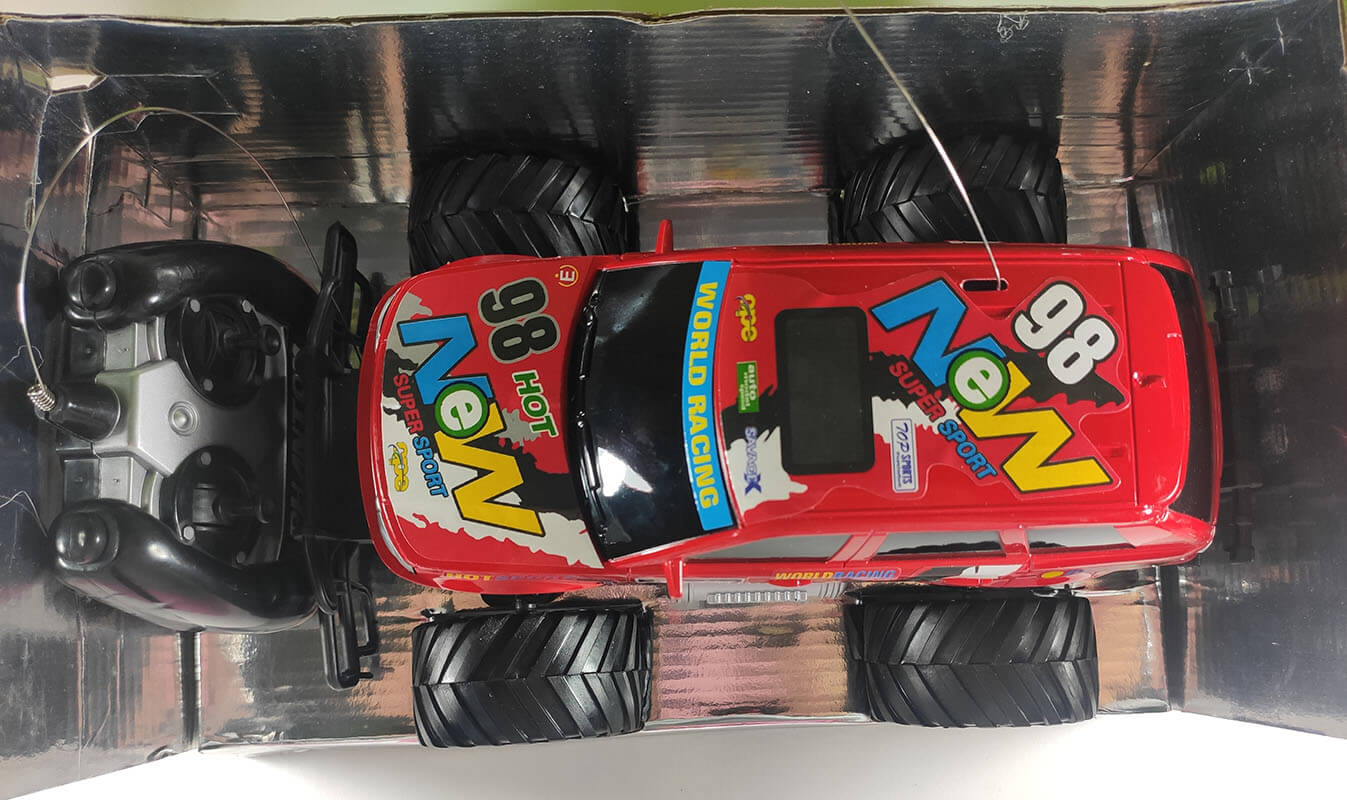CARRO CONTROLE REMOTO RC SPEED RACER FU19008 FUTURO KIDS
