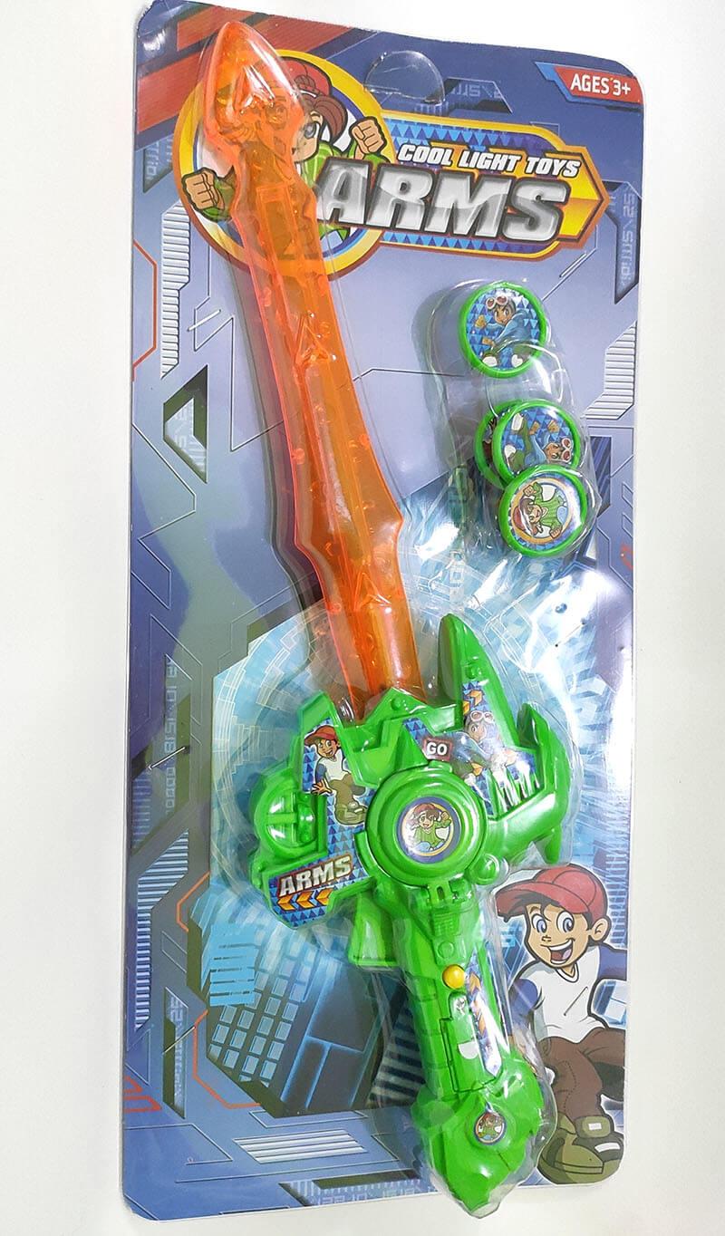 Espada com lançador de Discos YTL-0135
