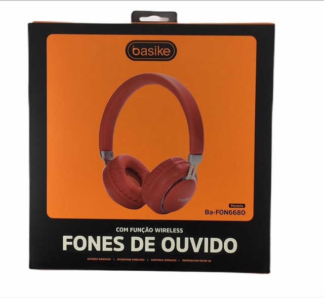 FONE DE OUVIDO BLUETOOTH BA-FON6680 BASIKE