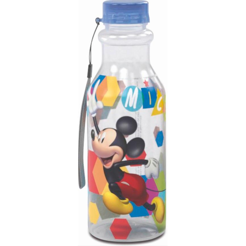 Garrafa de Plástico 500 ml com Tampa Rosca Retrô Plasutil