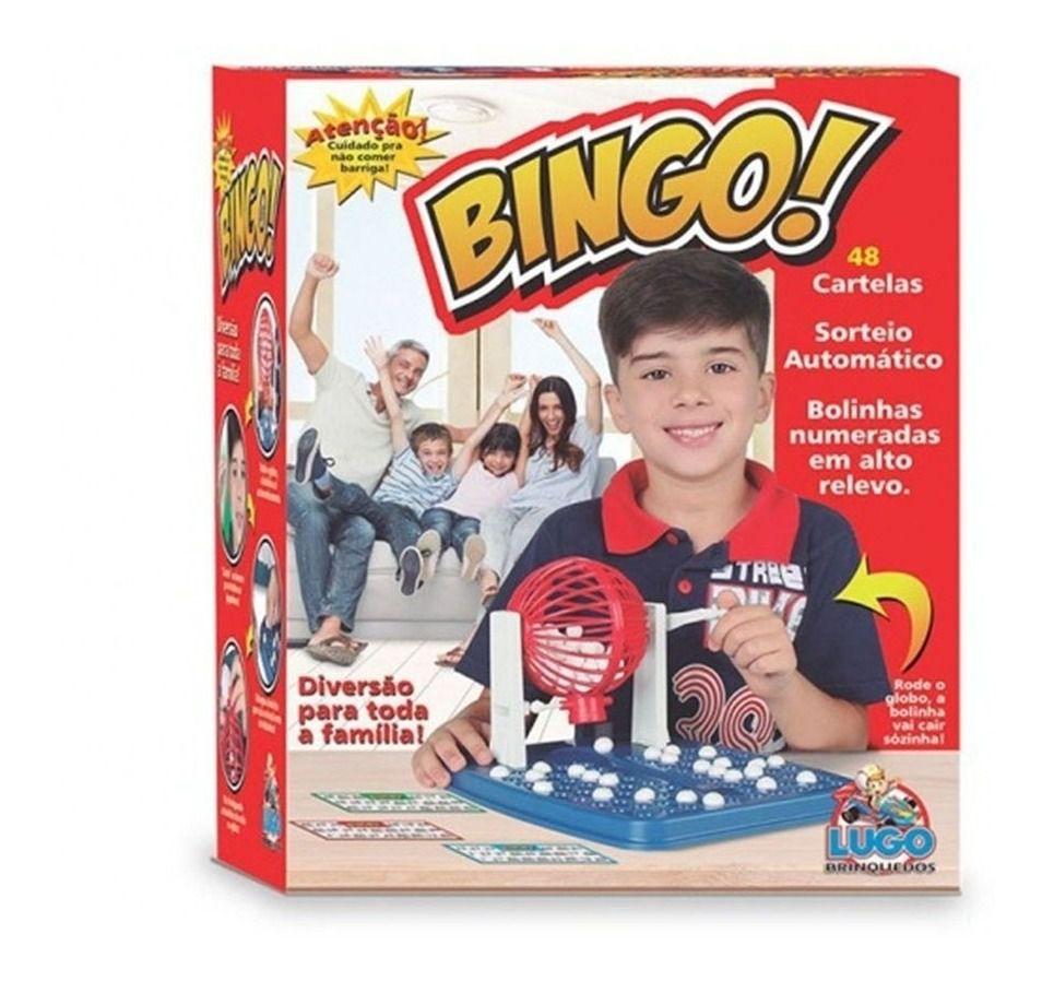 JOGO DE BINGO SBL022 LUGO BRINQUEDOS