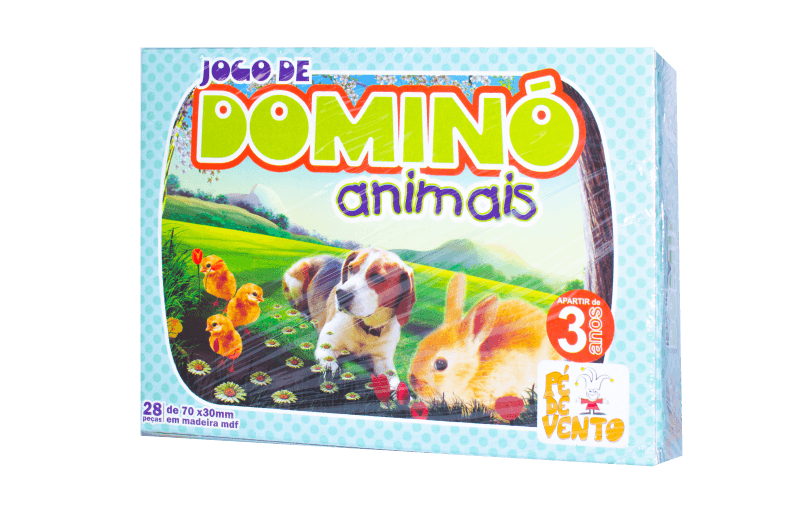 JOGO DE DOMINÓ ANIMAIS 045