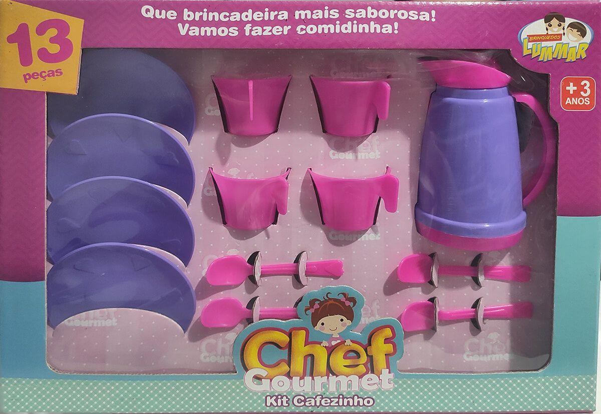 KIT CAFEZINHO 13PCS CHEF GOURMET 084