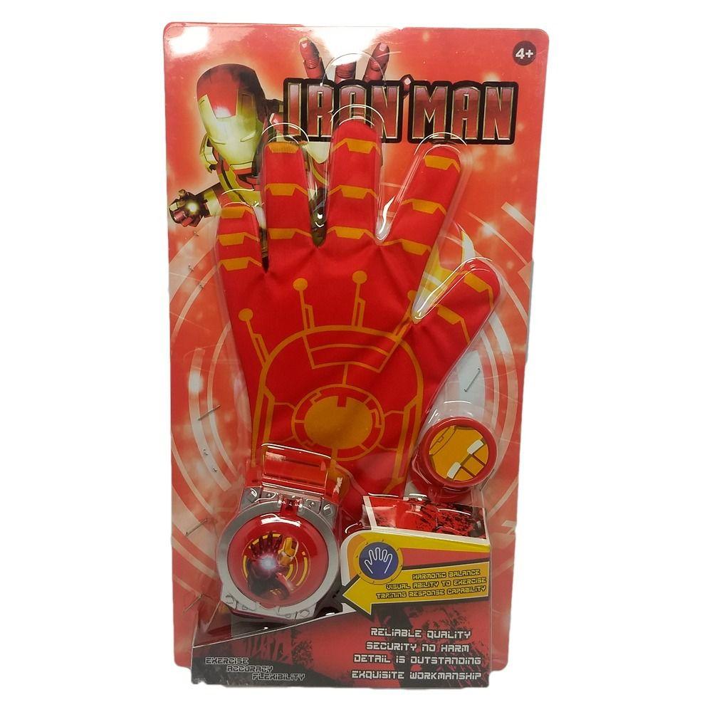 Luva Com Lançador De Discos Homem De Ferro