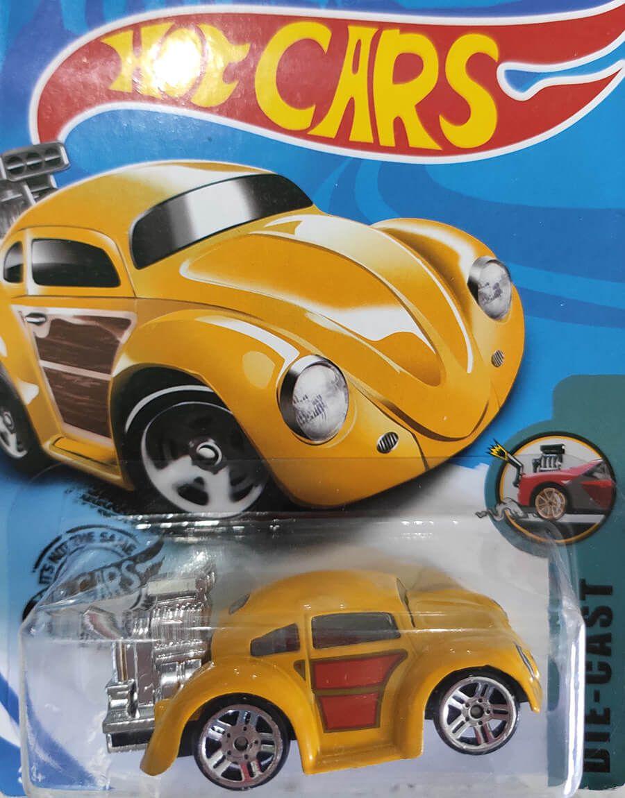 Miniatura de Carrinhos Hot Cars Die-Cast