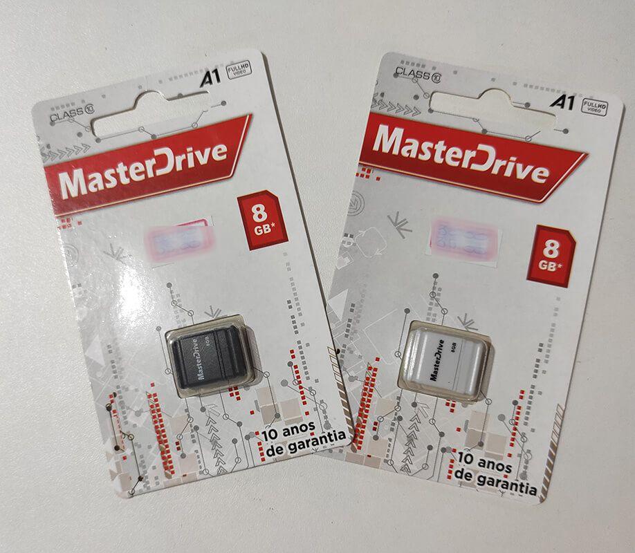 PEN DRIVE 8 GB FIT MASTERDRIVE