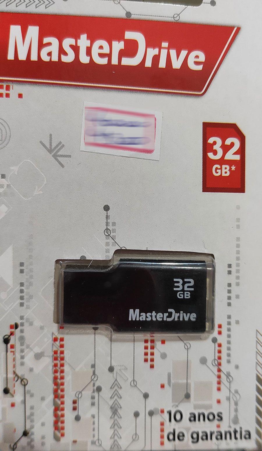 Pendrive 32GB Color MasterDrive