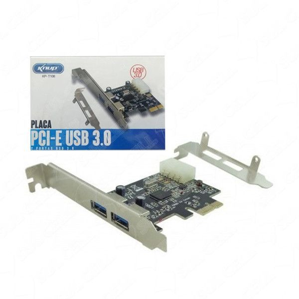 PLACA PCI-E USB 3.0 KP-T106 KNUP