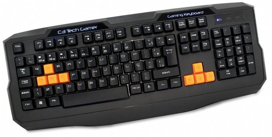 Teclado Gamer KG-03 BK C3 Tech