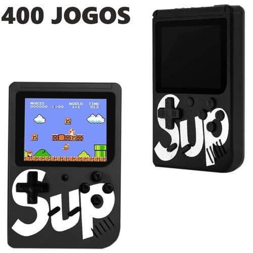 Vídeo Game Box  Sup WU-001A Box Retro Mini 400 Jogos Portátil