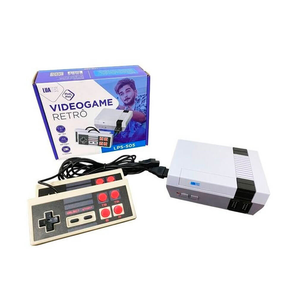 VideoGame Retrô com 620 Jogos LPS-505 LuaTek
