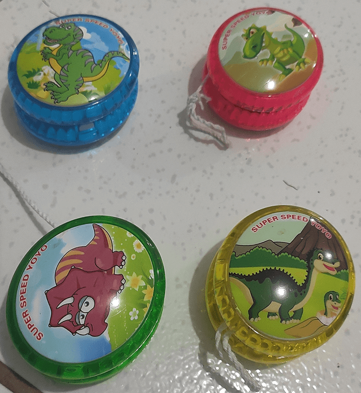 YOYO INFANTIL COM LED DINO WORLD 0286