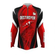 Camisa de Pesca - Estampa Destroyer
