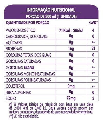LIFE H2O PROTEIN DRINK - AÇAÍ  - PACK COM 6