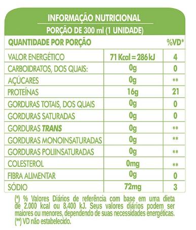 LIFE H2O LIFE H2O PROTEIN DRINK - LIMÃO  - PACK COM 6