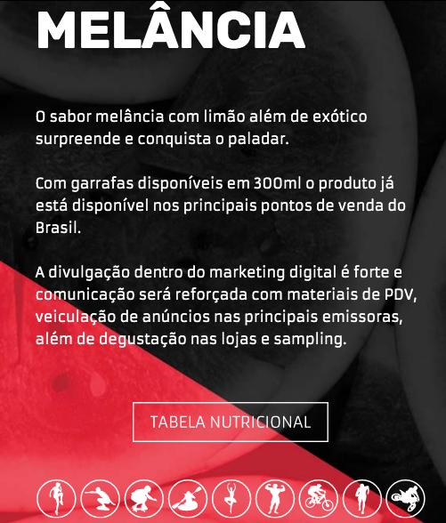 LIFE H2O PROTEIN DRINK -  MELANCIA C/ LIMÃO  - PACK COM 6