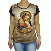Baby Look Maria da Providência Bordada
