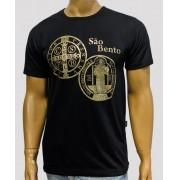 Camiseta Bento Crom Preta