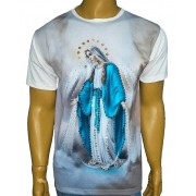 Camiseta Graça Lateral Bordada