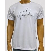 Camiseta Gratidão Branca
