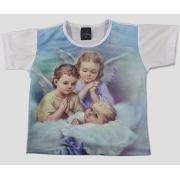 Camiseta Infantil Anjinhos no Céu