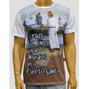 Camiseta Jesus e os Pescadores