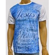 Camiseta Jesus Emanuel Azul