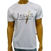 Camiseta Jesus Luz Branco