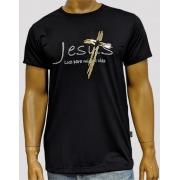 Camiseta Jesus Luz Preto